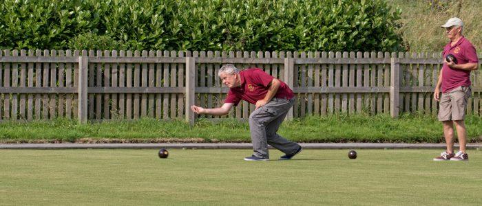 John bowling in the singles final